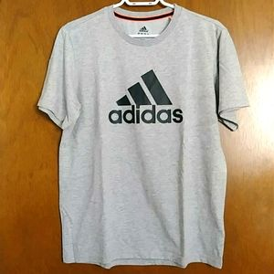 ADIDAS grey&black T-shirt